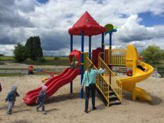 Как обустроить детскую площадку