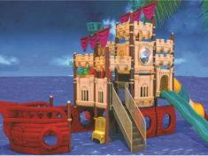 Детские площадки корабли