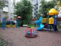 Благоустройство двора по программе «Комфортная среда» в г. Санкт-Петербург