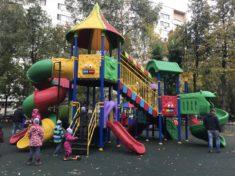 Фото детской игровой площадки из каталога Dgorodki.ru