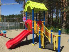 Детские площадки для малышей