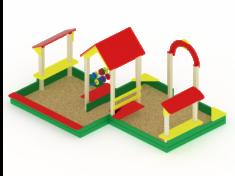 Песочницы для дачи и детского сада