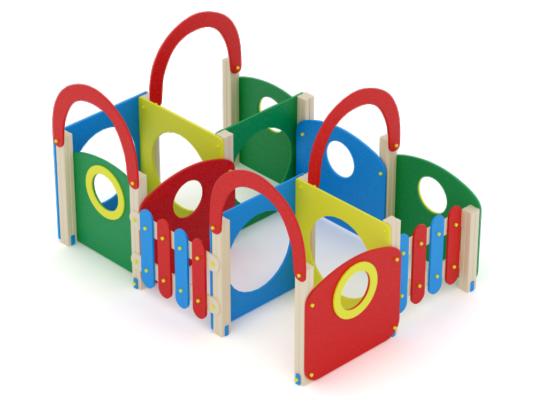 Изображение детского пластикового комплекса ИК 1152 портфолио от Dgorodki.ru