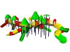 Детские площадки джунгли