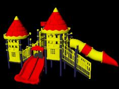 Игровые комплексы замки