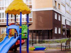 Детские площадки для многоквартирных домов