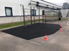 Спортивная площадка СВС-30 с резиновым покрытием