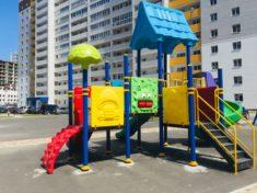 Детский игровой комплекс PS-105 с качелями «Гнездо»