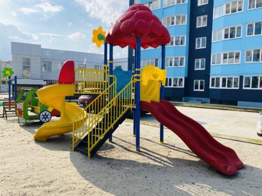 Детский игровой комплекс из пластика ИК-0006