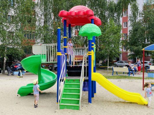 Детский игровой комплекс PS 1217
